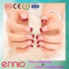 2015 latest high quality artificial french nail tip
