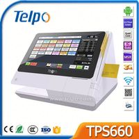 Factory Direct Sales Bluetooth/Ethernet/Wifi Cash Register at walmart with Receipt Printer