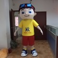Boy costume for kids/boy custom mascot for sale