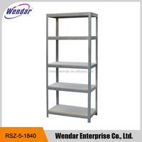 5-Tier Boltless Galvanized Steel Adjustable Garage Storage Shelving/Warehouse Rack and Shelf
