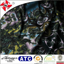 warp knitting polyester lycra dragon print fabric