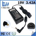 High quality factory cheap rohs ac adapter Tingxing brand for acer 19V3.42A65W Notebook charger 4.8*1.7MM