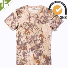 breathable camouflage cotton funny army t shirts