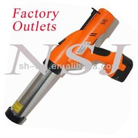 Battery-powered tool for 300ml / 310ml single cartridge, 300ml sachet silicone sealant