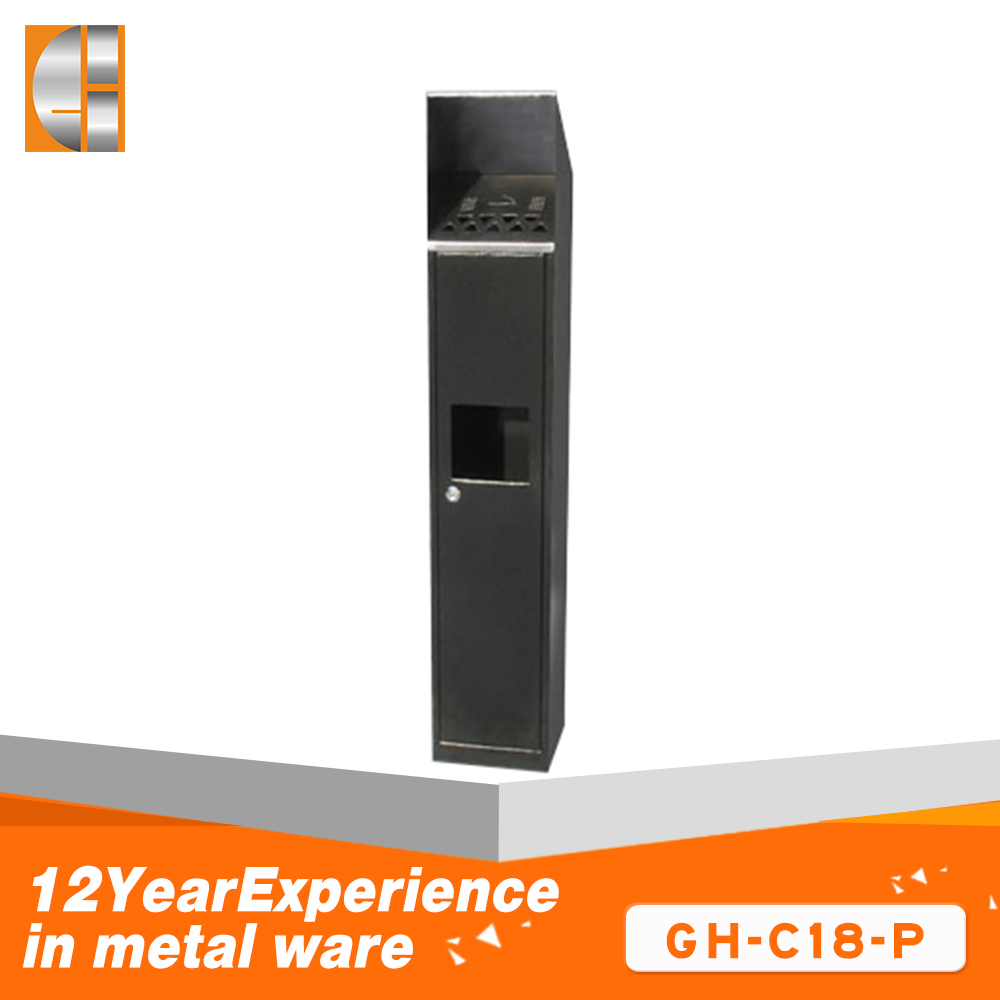 GH-C28 Wall mounted & custom cigarette bin / cigarette bpx