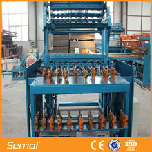 safety grassland fence weaving post machine CE/ISO9001:2008