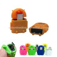 USB A Female to USB Micro Male Plug otg adapter for samsung galaxy s3 s4 note 1 note 2
