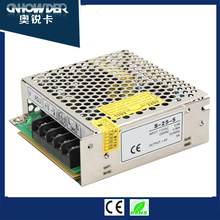 Factory Direct MS-25 25W 5v 12v 24v 1.1A 2A 5A Miniatur switching power supply smps for LED light