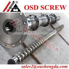 Single PE gas pipe screw barrel for plastic tube extruder