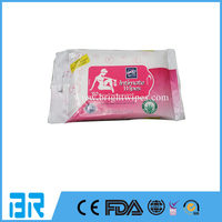 Wholesale Personal Care Feminine Cleansing Intimate Hygiene Wet Wipes