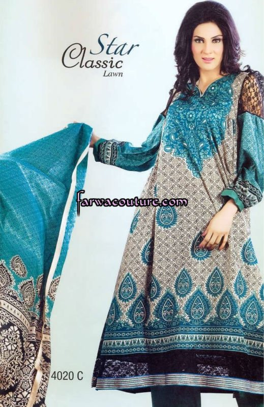 Star Classic Spring Lawn Collection 2012