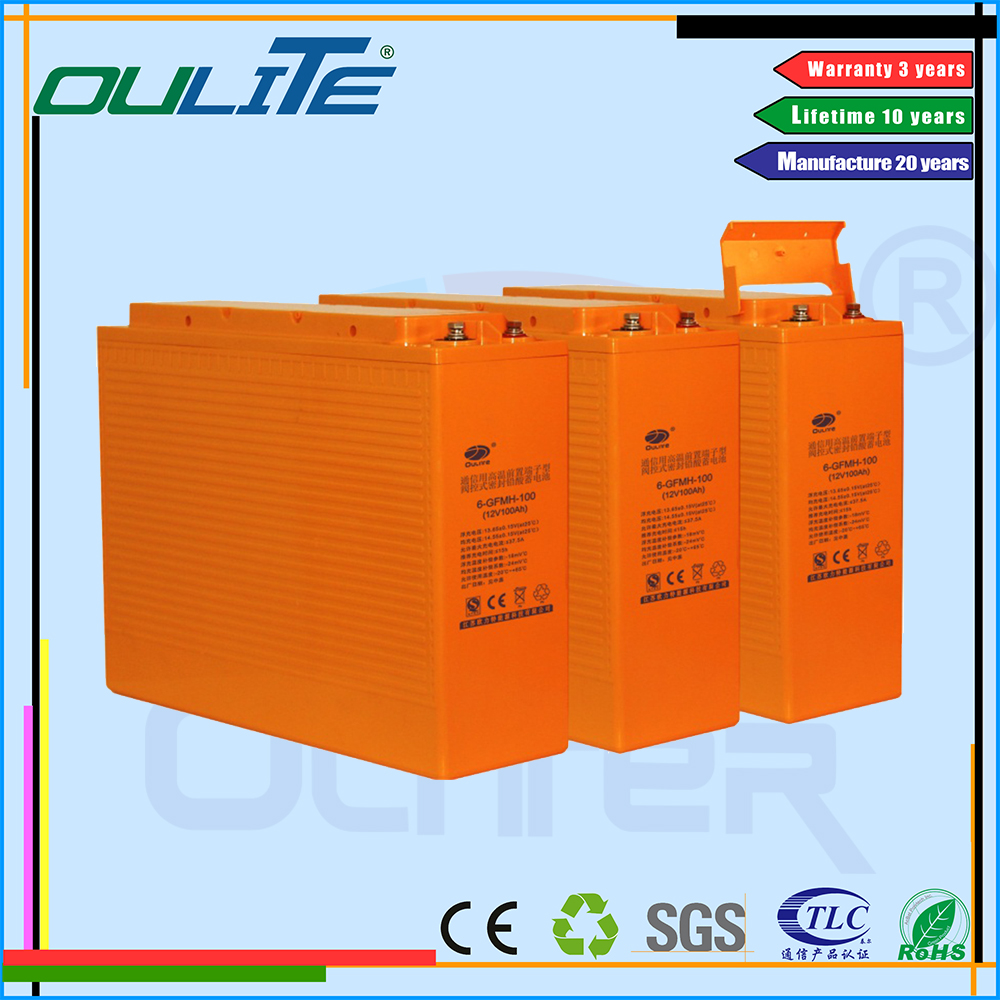 Easy Operation tubular gel solar battery
