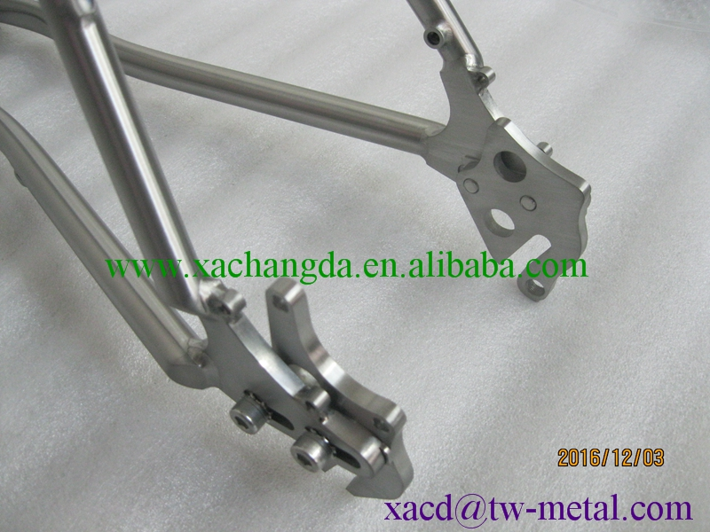 titanium mtb bike frame titanium cyclocross bike frame customized bike frame