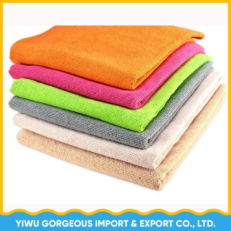 Absorbent Terry Microfiber car cleaning cloth for car washing towel