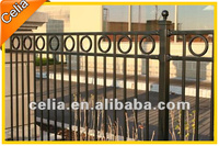 Powder coated cut proof fencing
