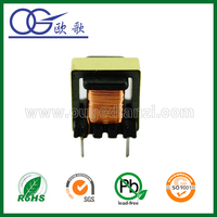 Mn-Zn PC40 ferrtie core EE10 two types of transformer with best price and high quality