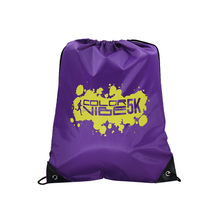 Promotional gift Gym sport Polyester Drawstring Bag