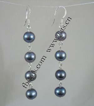 2015 Gets.com freshwater pearl indian gold drop earrings