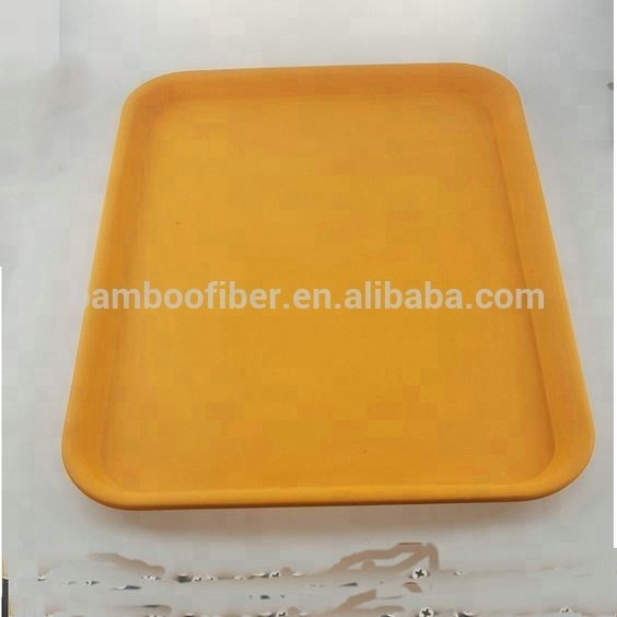 MBF Biodegradable Bamboo Fiber Tray With LFGB <strong>Approved</strong>