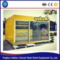 Prefabricated prefabricated modern steel container prefabricated house for coffee resturant shop house