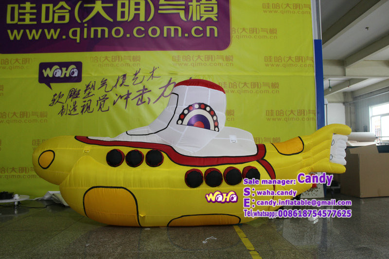 Advertising inflatable banana boat model for sale C-289