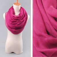Spring 2015 fashion scarf , Fashion ladies plain voile scarf bulk buy from china