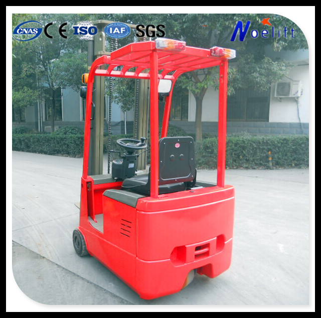 1 ton capacity small 3 wheels electric forklift with good reliablility