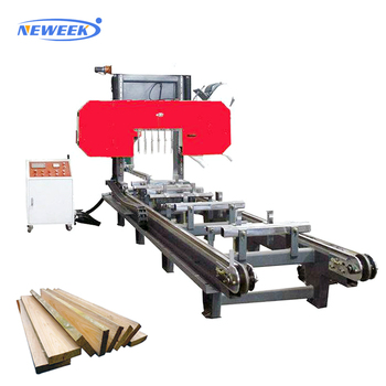 NEWEEK precision automatic timber wood band saw machine price