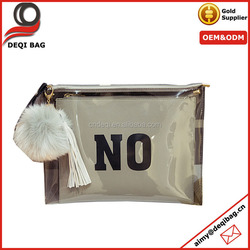 retro original tawny clear pvc clutch bag best-selling lady candy bag women fashion document pouch