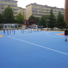 colorful hard sport court plastic flooring tennis court interlocking PP cover for outdoor sport flooring tiles