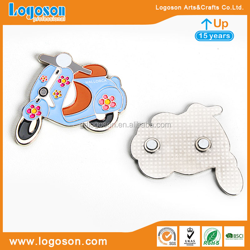 Hot Selling Home Decoration Souvenirs Various Styles Metal Made Crafts Fashion Fridge Magnets & Magnets for Fridge