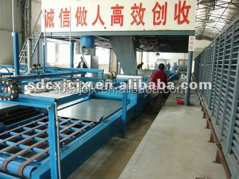 Fire-proof Wheat/Rice Straw Board Machine