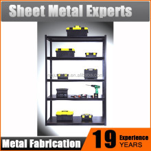 Quliaty Exporter Heavy duty metal DIY steel storage shelf in black