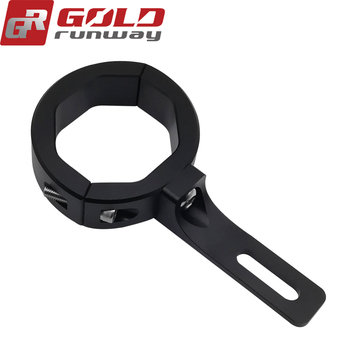 Fork Clamps Mount Holder Indicator Turn Signal Brackets For Motorcycle 35MM~39MM Diameter Fork Tubes