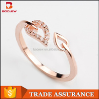 perfect jewelry for lady reasonable price rose gold plating women ring