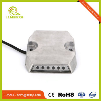 Customized professional flashing mode tunnel wired road studs