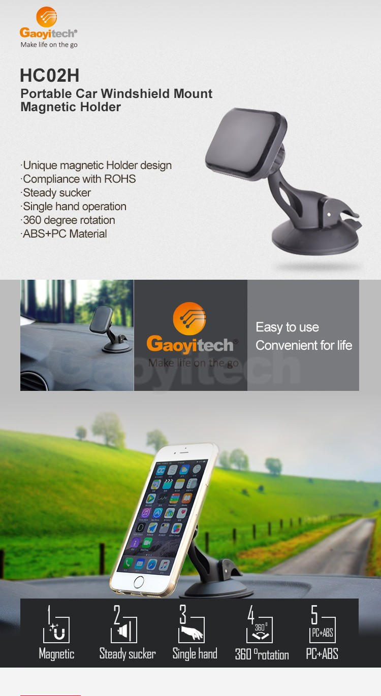 Car mount magnetic universal car holder car smartphone holder accessories