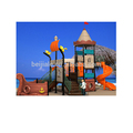 Outdoor playground of pirate ship playground equipment Kids plastic set equiqpment PS-017