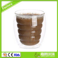 Custom design Chinese water goblet glass . design water glass
