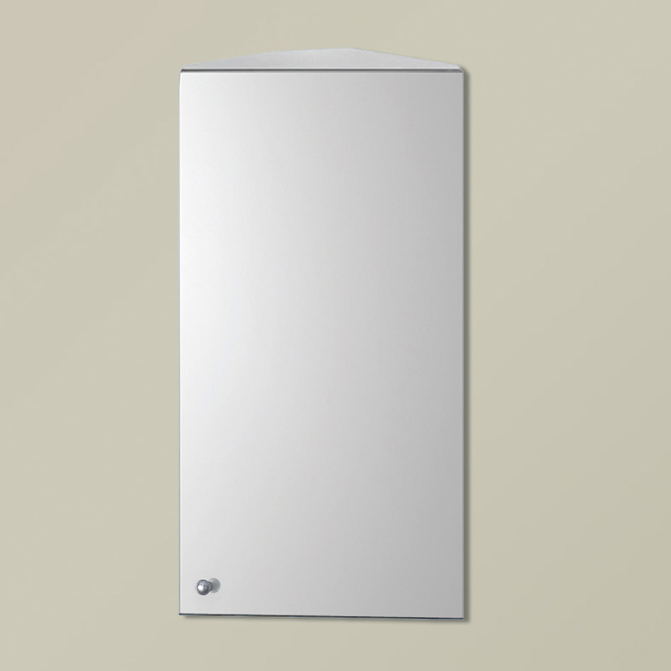 Stainless Steel Bathroom Wall Cabinet with Single Mirror Door