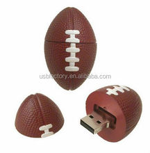 Ellipse Football USB Flash Drive for Gifts, Laser Pen USB Drive Football USB Driver, 3D Football usb sticks memory drives gadbet