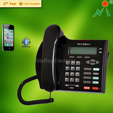 2 portable telephone set able to connect to cell phone