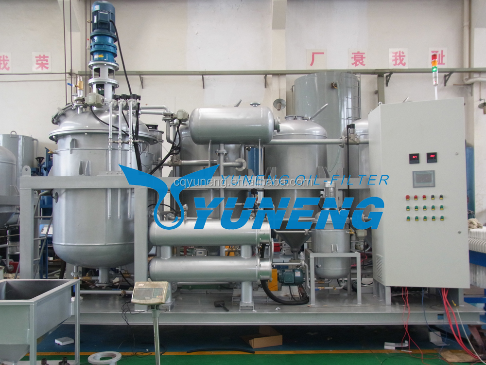 New waste oil recycling machine for renew black motor oils/used motor oil recycling machines/engine oil purifier