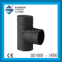 Carbon steel pipe chimney flue pipe for fireplace stove chimney