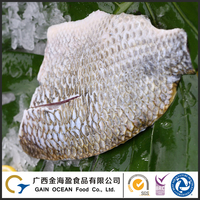 Frozen sea food manufacture wholesale skin-on tilapia fillet