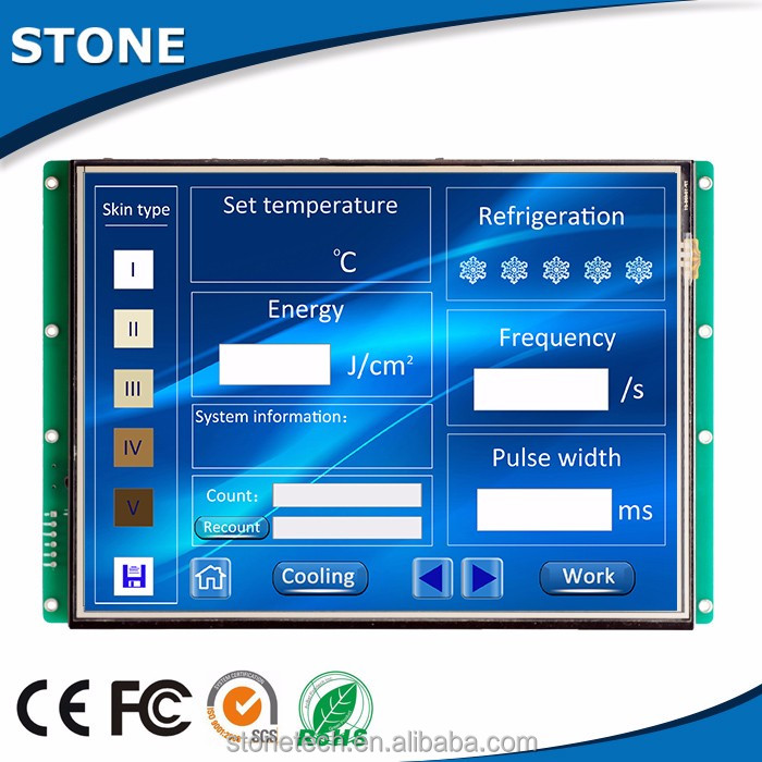 12.1 inch smart display lcd panel for toshiba
