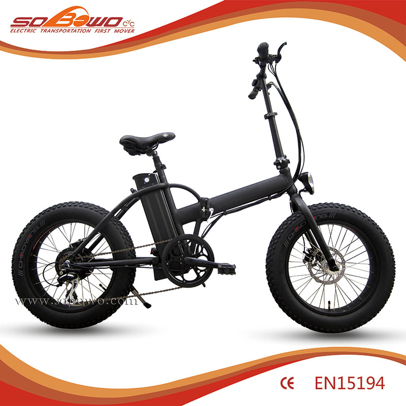 "Off road fat cheap electric bike 20"" mini foldable ebike for sale"