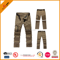 Wholesale Mens Cargo Pants With Side Pockets Men Workout Pants Jogger Pants Outdoor