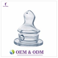 Crystal stretched function safety standard stimulation wholesale silicone baby nipple