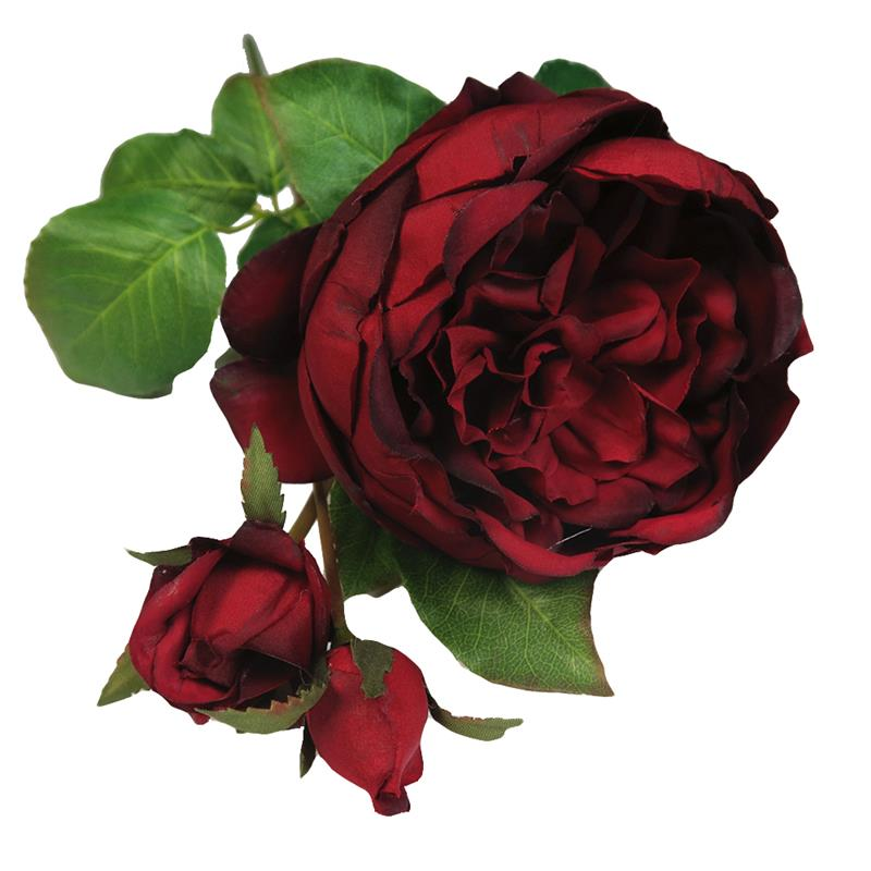 Silk rose flowers artificial English rose for wedding centerpiece and home decoration